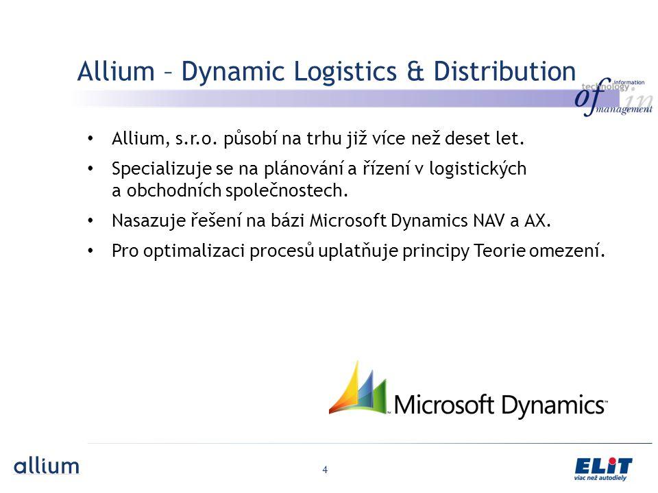 Allium – Dynamic Logistics & Distribution