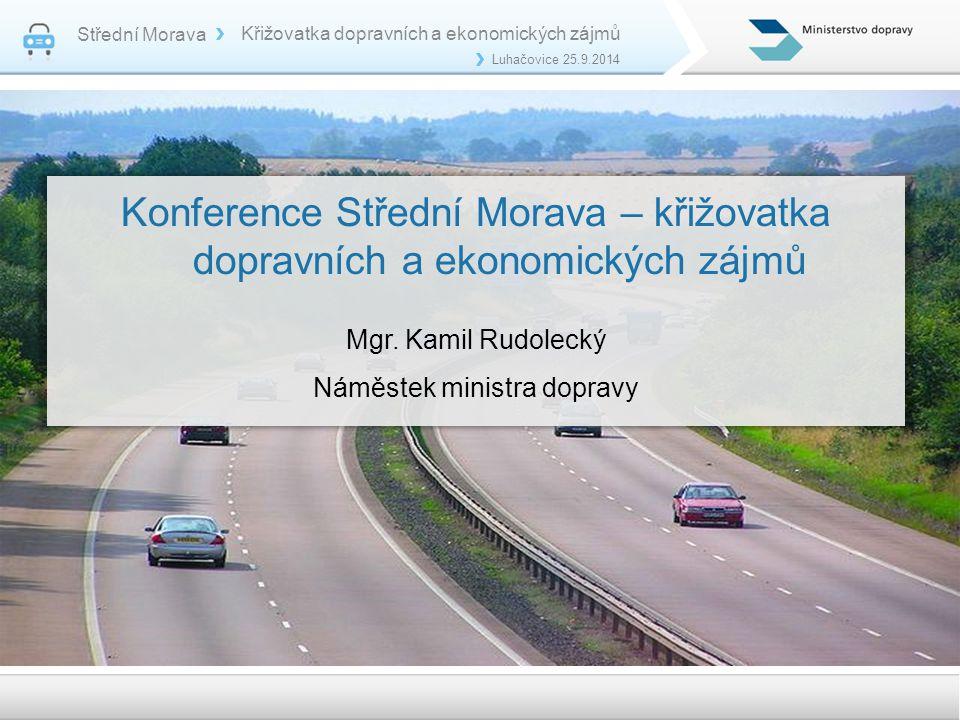 Konference Střední Morava – křižovatka dopravních a ekonomických zájmů
