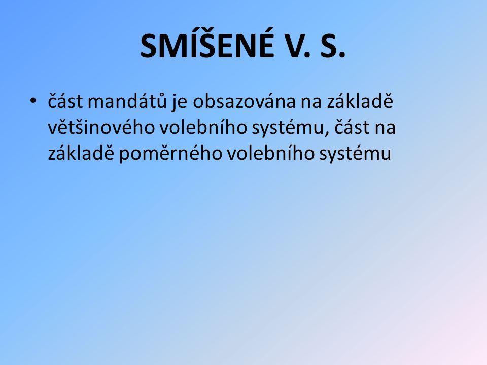 SMÍŠENÉ V. S.