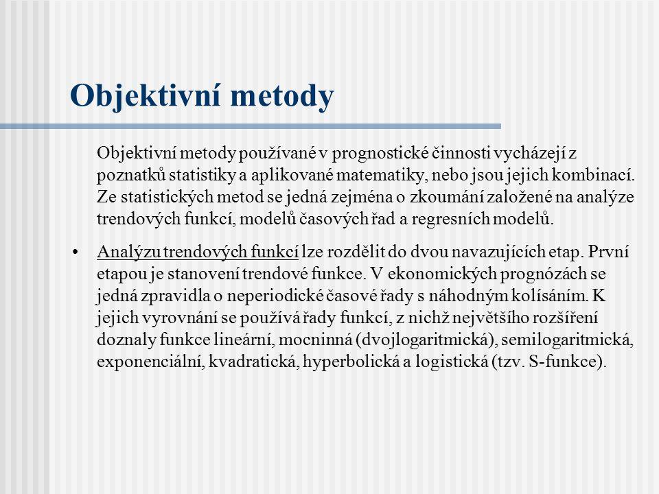 Objektivní metody