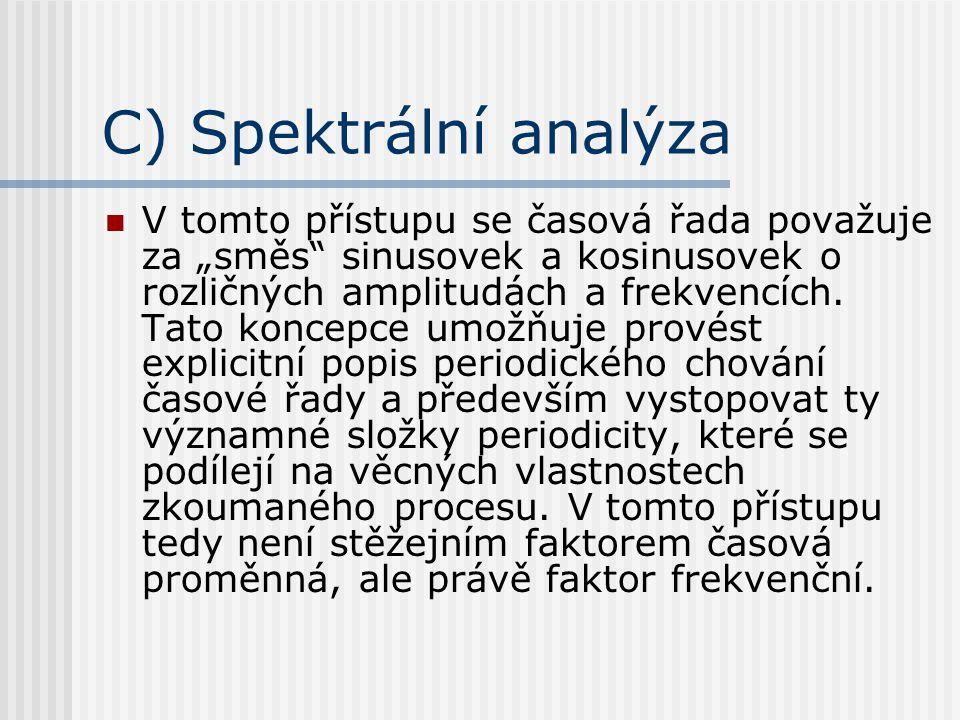 C) Spektrální analýza