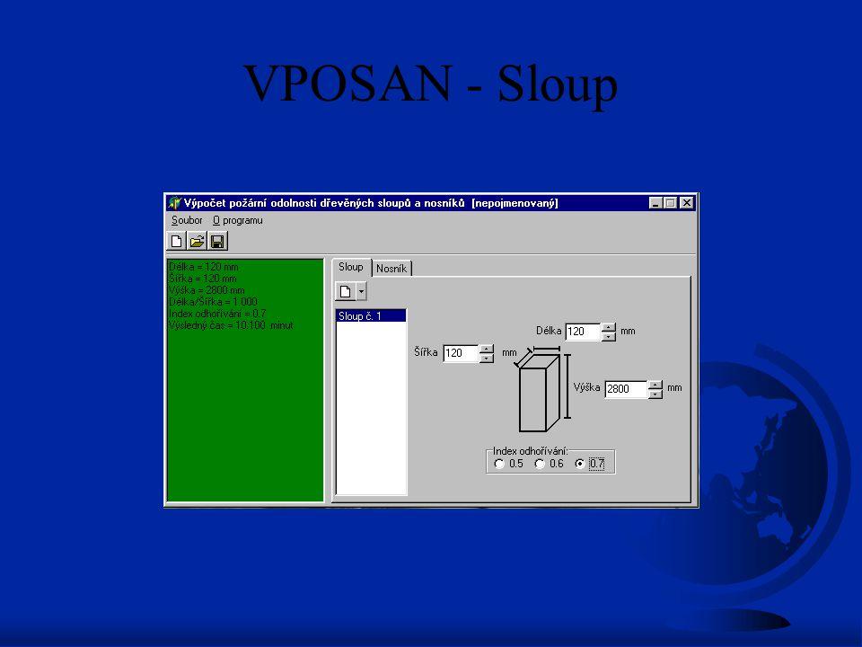 VPOSAN - Sloup