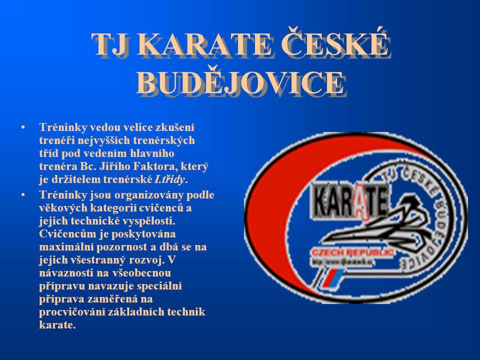 TJ KARATE ČESKÉ BUDĚJOVICE