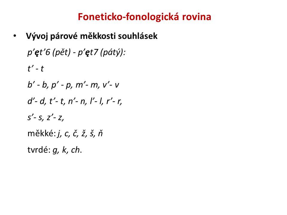 Foneticko-fonologická rovina