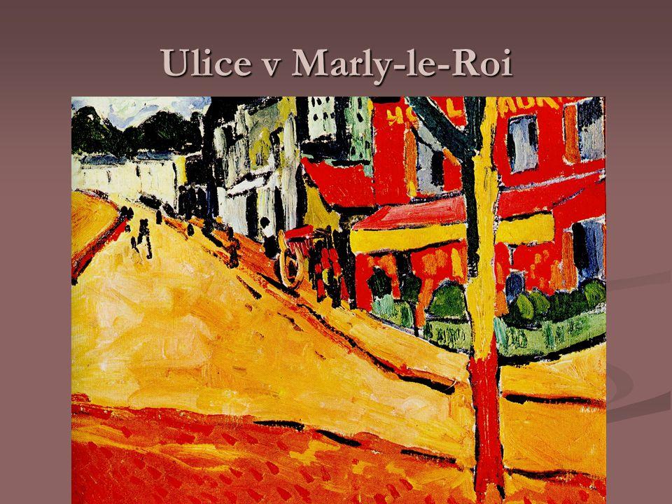 Ulice v Marly-le-Roi