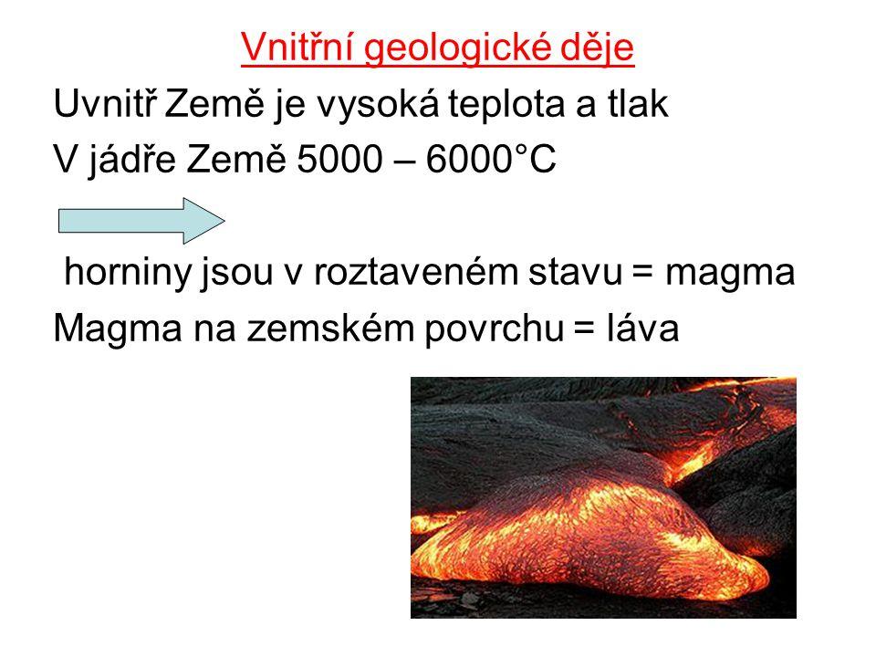 Vnitřní geologické děje