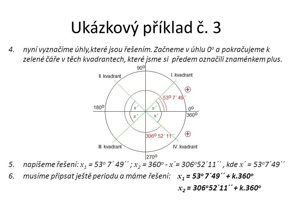 Ukázkový příklad č. 3