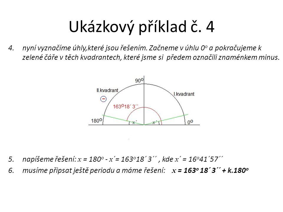 Ukázkový příklad č. 4