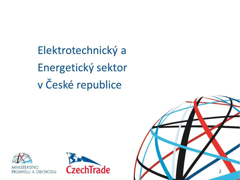 Elektrotechnický a Energetický sektor v České republice