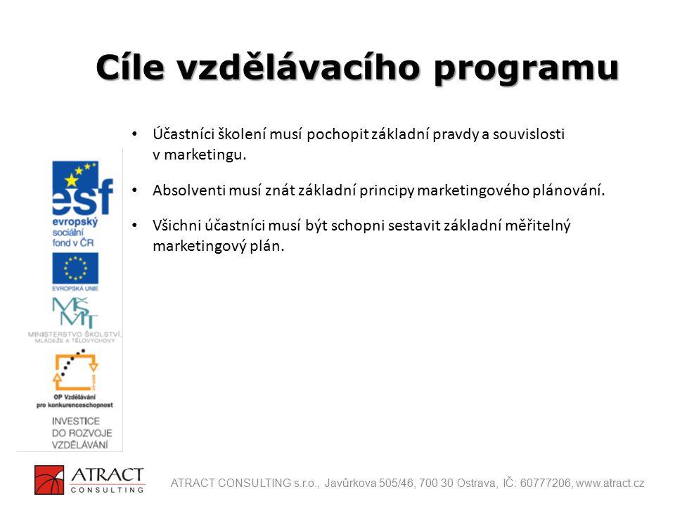 Cíle vzdělávacího programu
