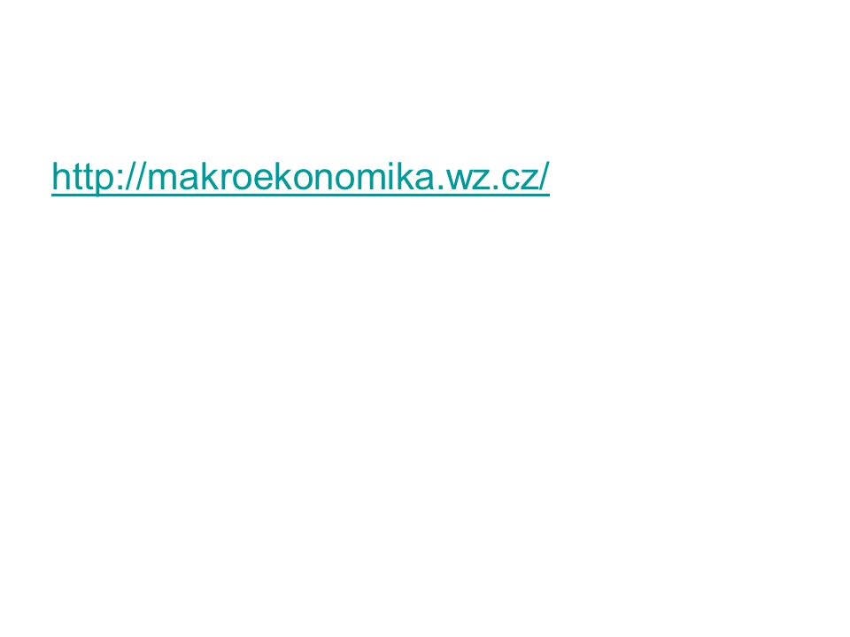 http://makroekonomika.wz.cz/