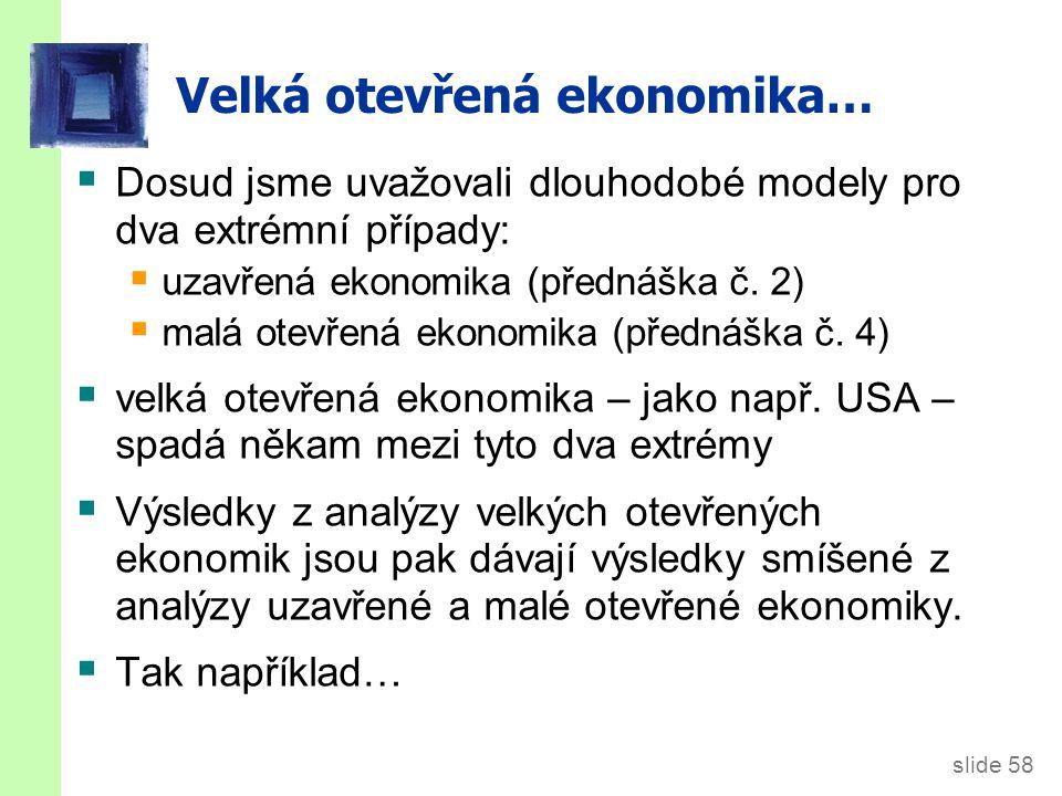 Fiskální expanze ve třech modelech