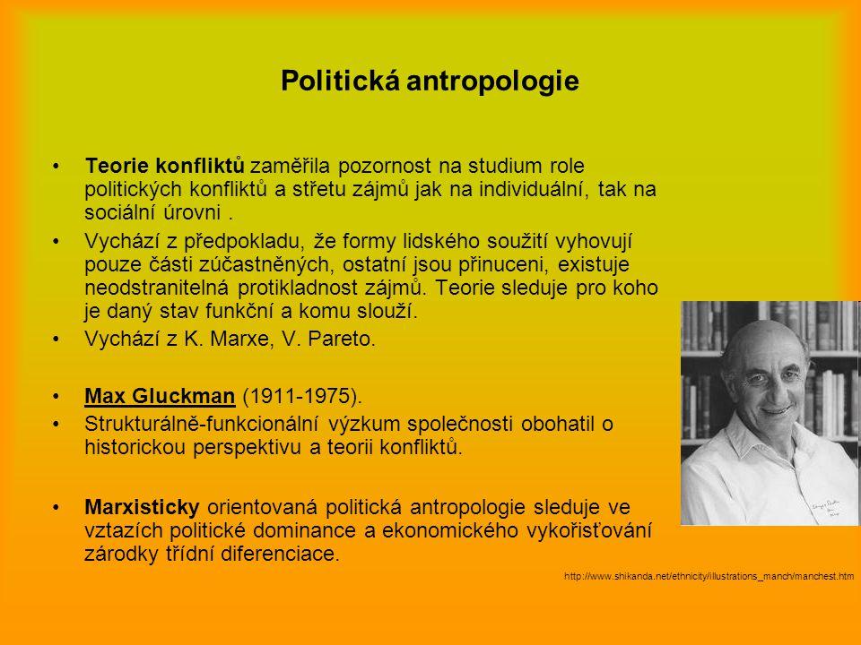 Politická antropologie