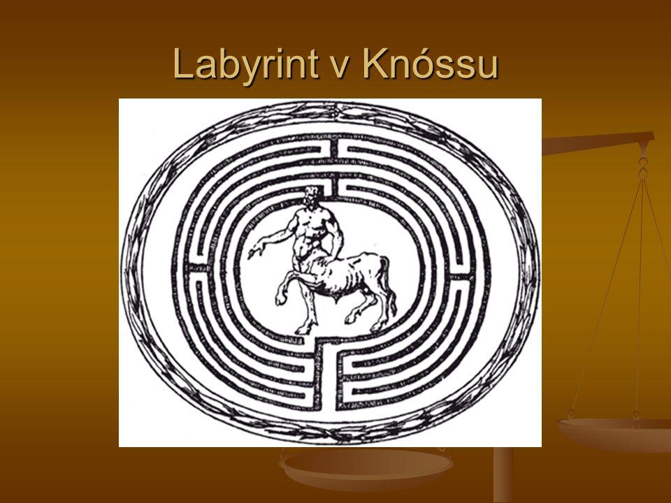 Labyrint v Knóssu