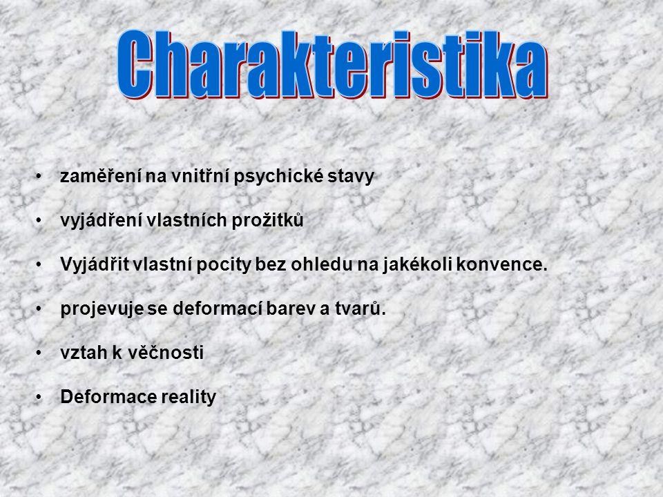 Charakteristika zaměření na vnitřní psychické stavy