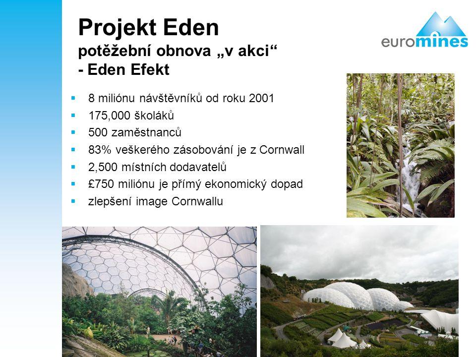 """Projekt Eden potěžební obnova """"v akci - Eden Efekt"""
