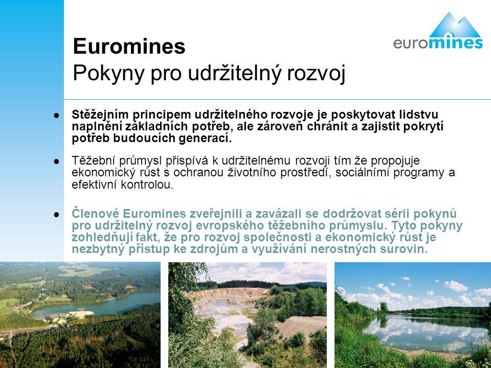 Euromines Pokyny pro udržitelný rozvoj