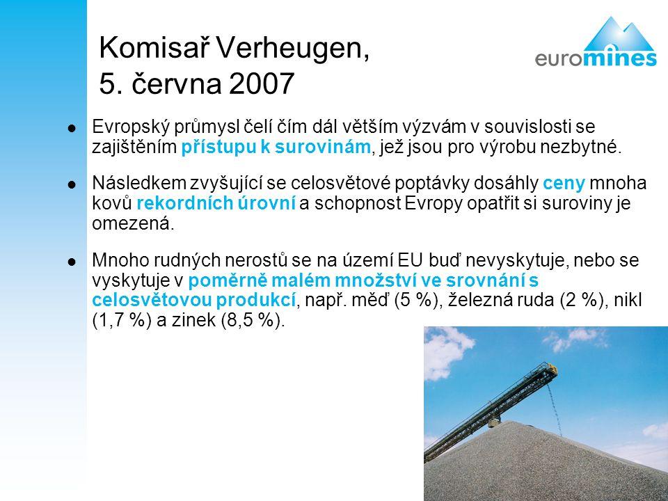 Komisař Verheugen, 5. června 2007