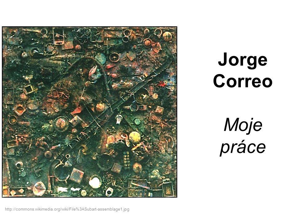 Jorge Correo Moje práce