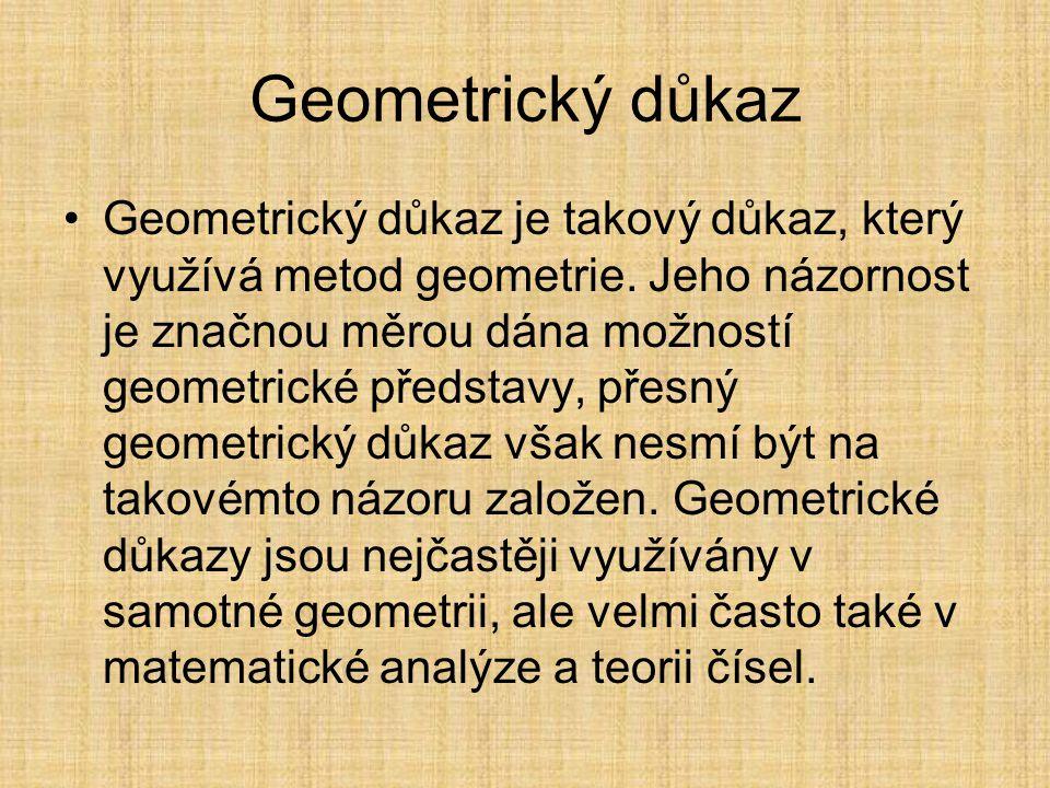 Geometrický důkaz