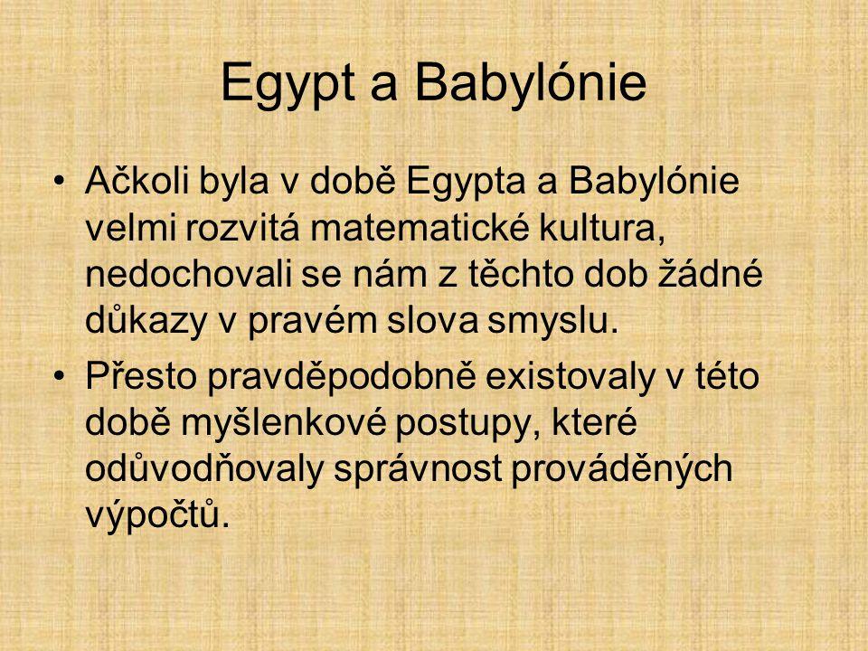 Egypt a Babylónie