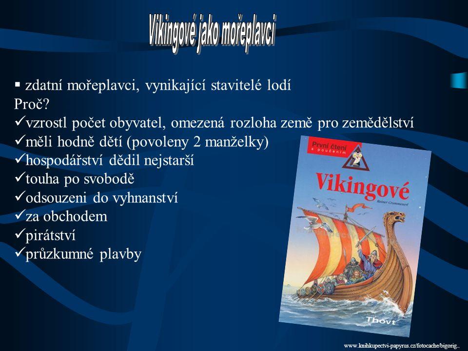 Vikingové jako mořeplavci