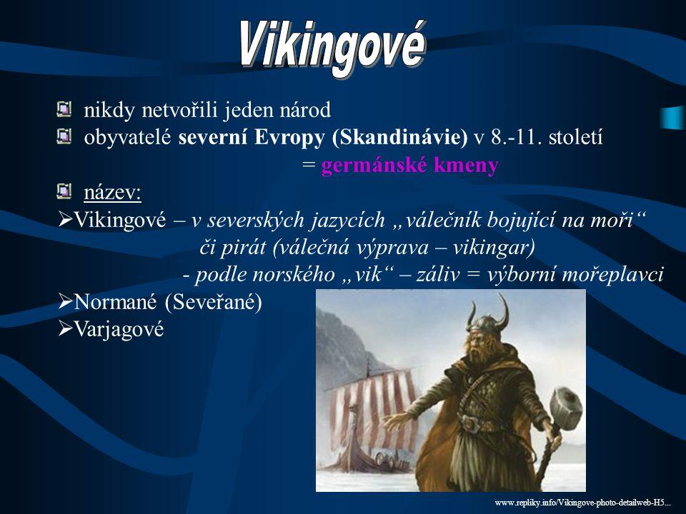 Vikingové nikdy netvořili jeden národ