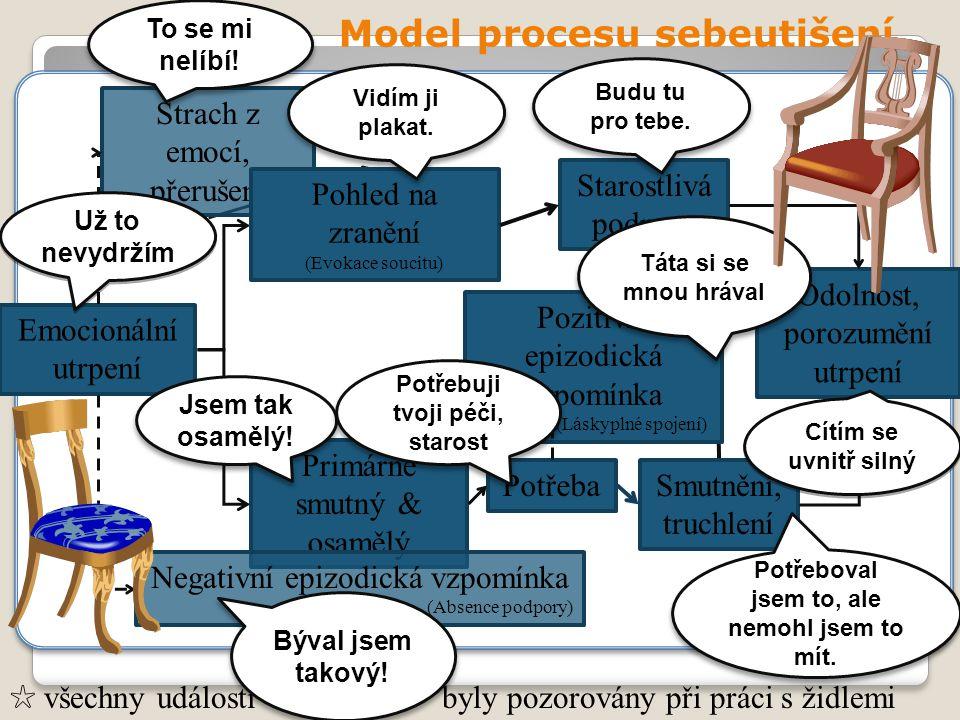 Model procesu sebeutišení