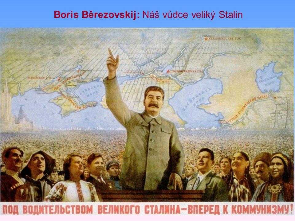 Boris Běrezovskij: Náš vůdce veliký Stalin