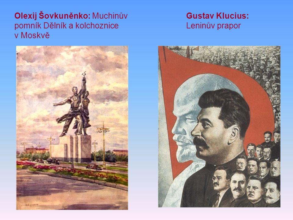 Olexij Šovkuněnko: Muchinův pomník Dělník a kolchoznice v Moskvě