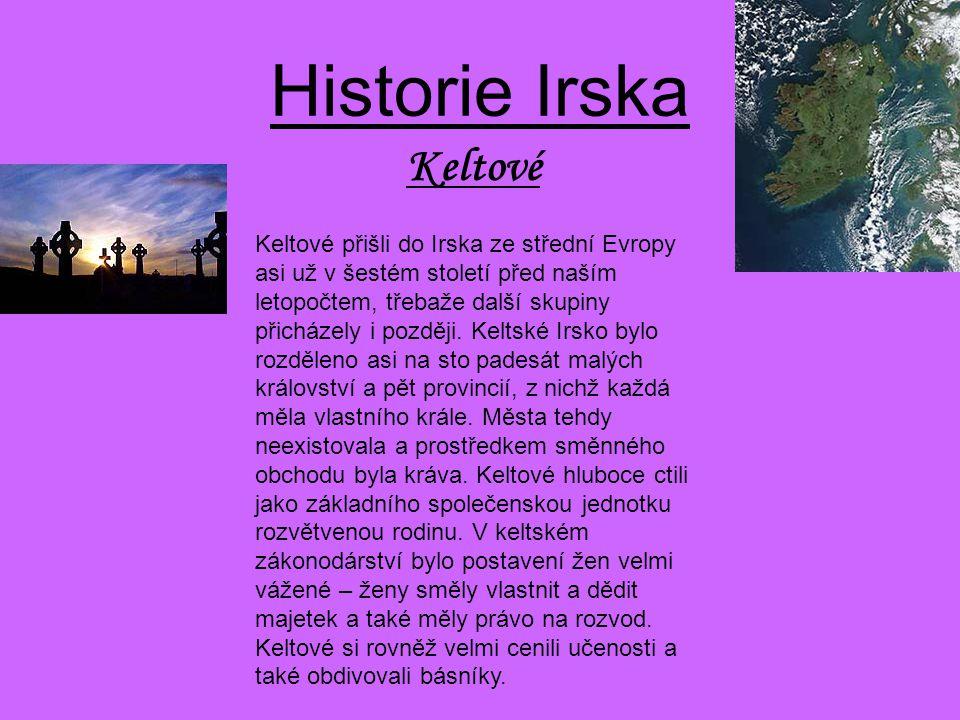 Historie Irska Keltové