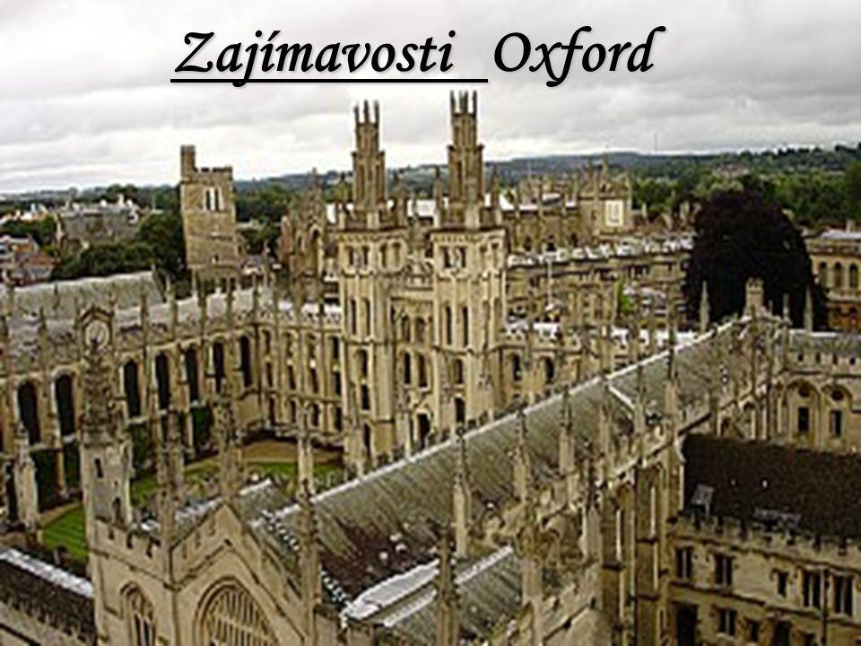 Zajímavosti Oxford