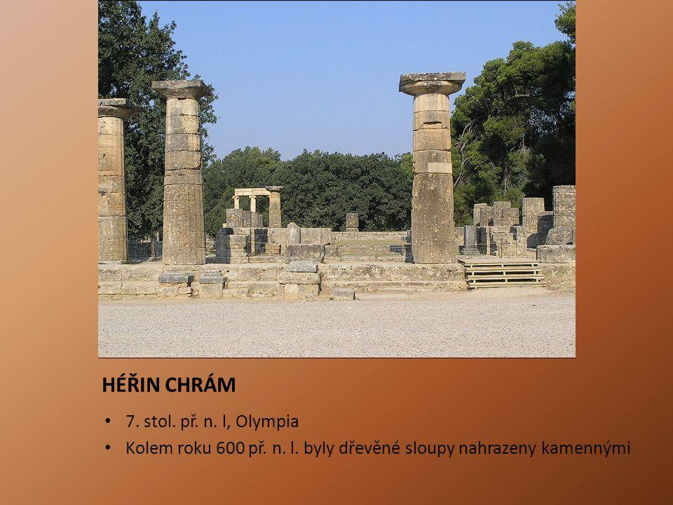 HÉŘIN CHRÁM 7. stol. př. n. l, Olympia
