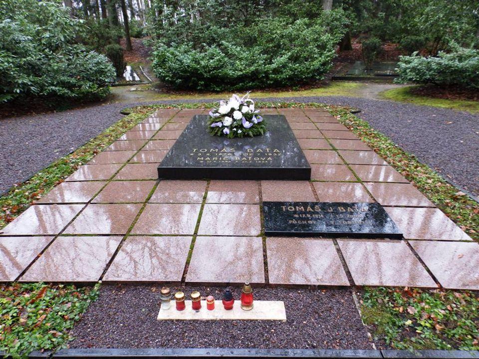 Smrt Tomáše Bati 12. července 1932, Otrokovice