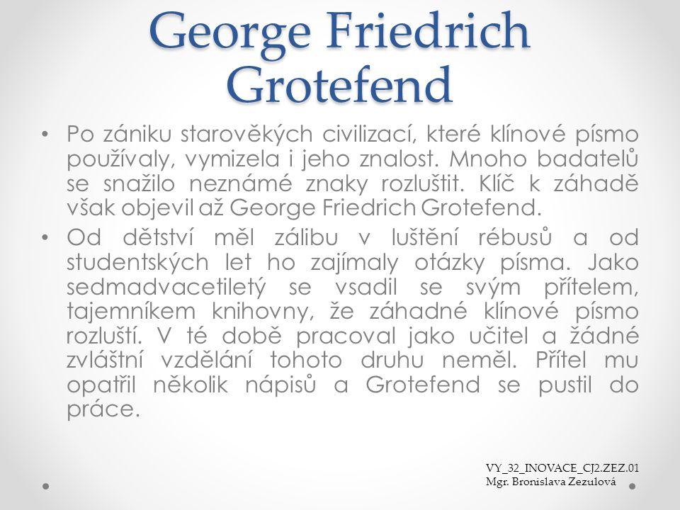 George Friedrich Grotefend