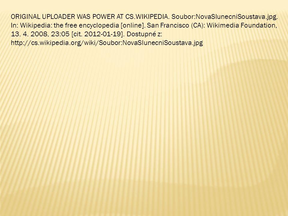 ORIGINAL UPLOADER WAS POWER AT CS. WIKIPEDIA