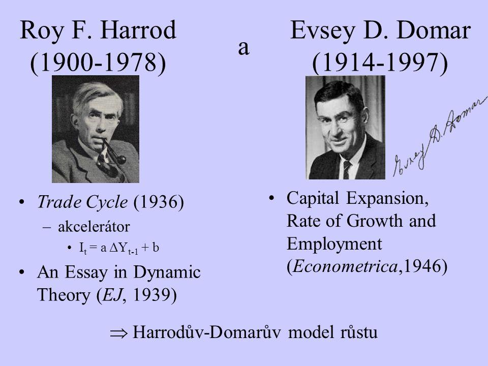 Harrodův-Domarův model růstu