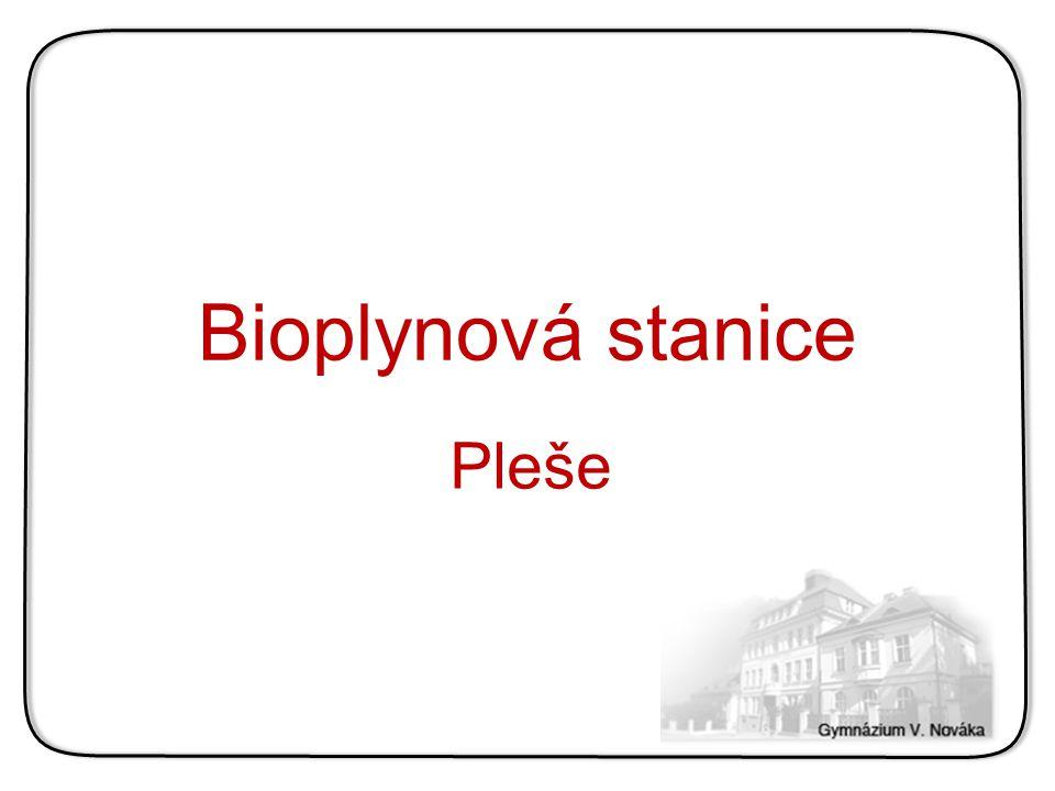 Bioplynová stanice Pleše