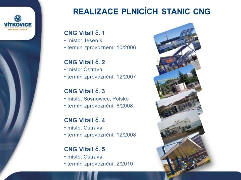 REALIZACE PLNICÍCH STANIC CNG