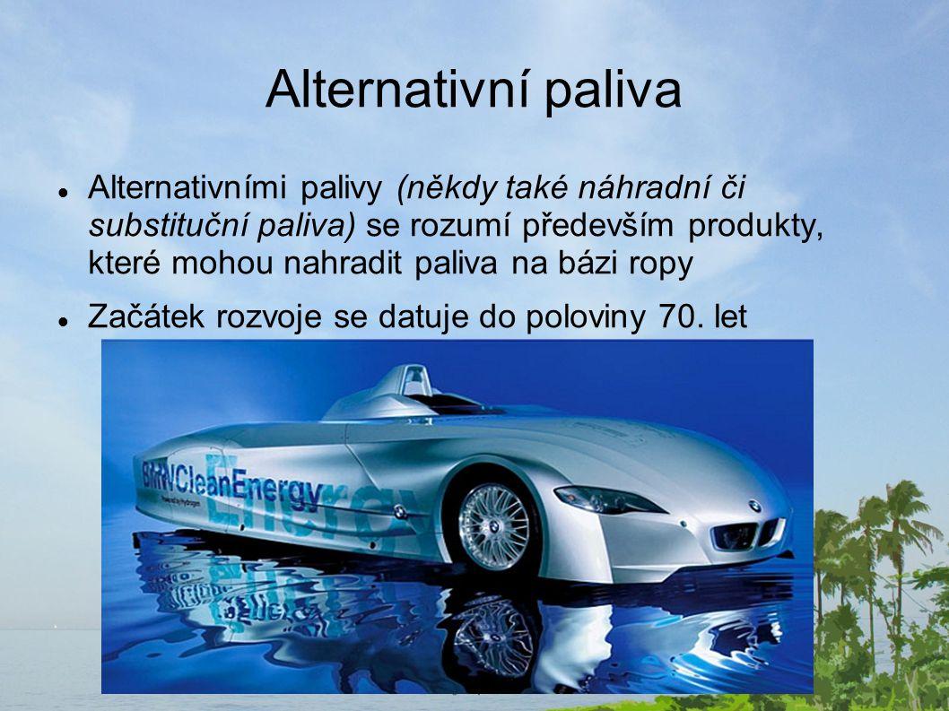 Alternativní paliva