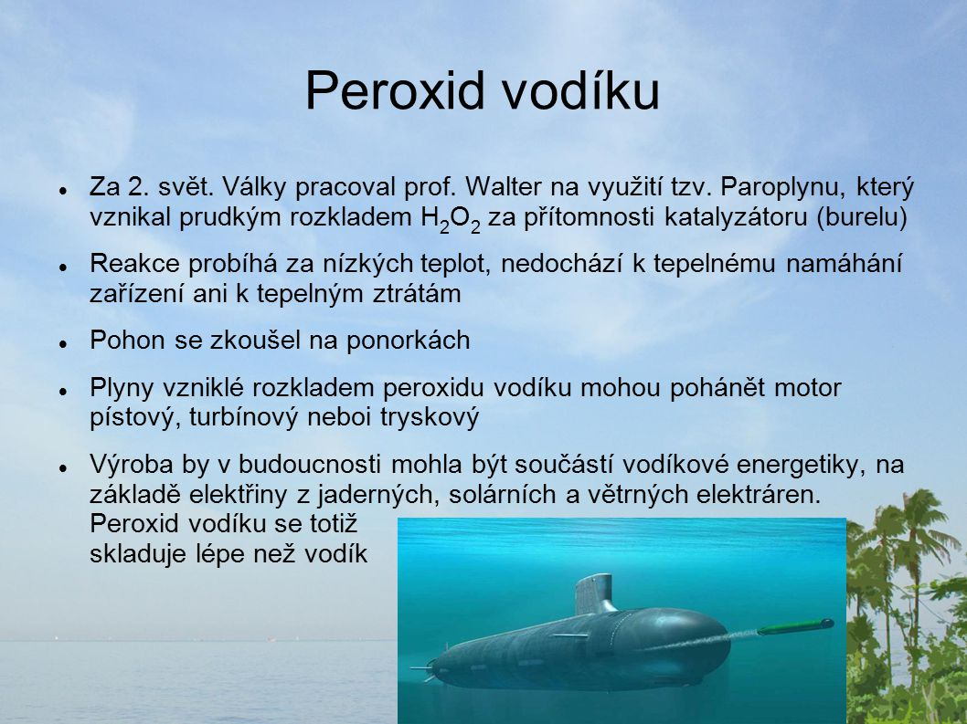 Peroxid vodíku