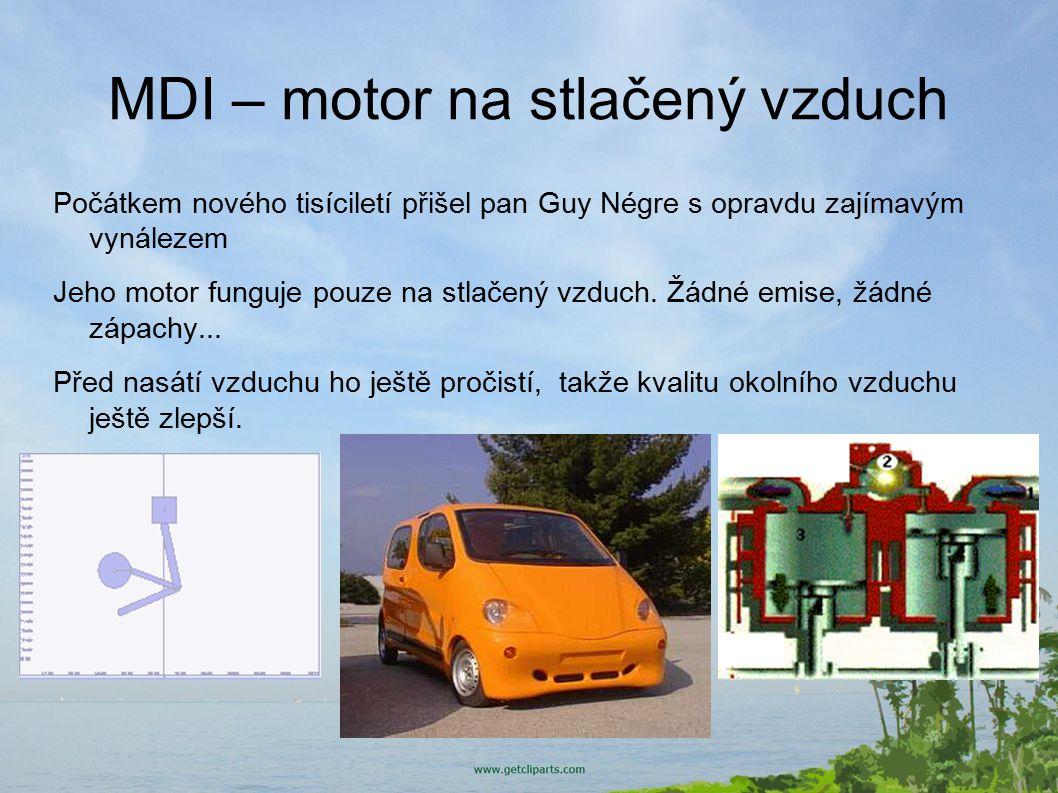 MDI – motor na stlačený vzduch
