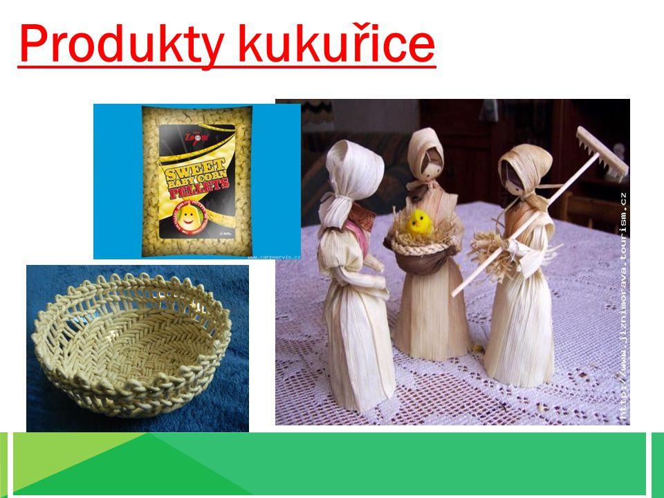 Produkty kukuřice