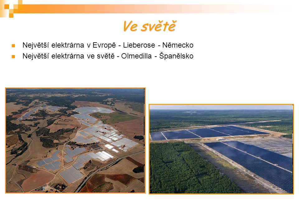 Ve světě Největší elektrárna v Evropě - Lieberose - Německo