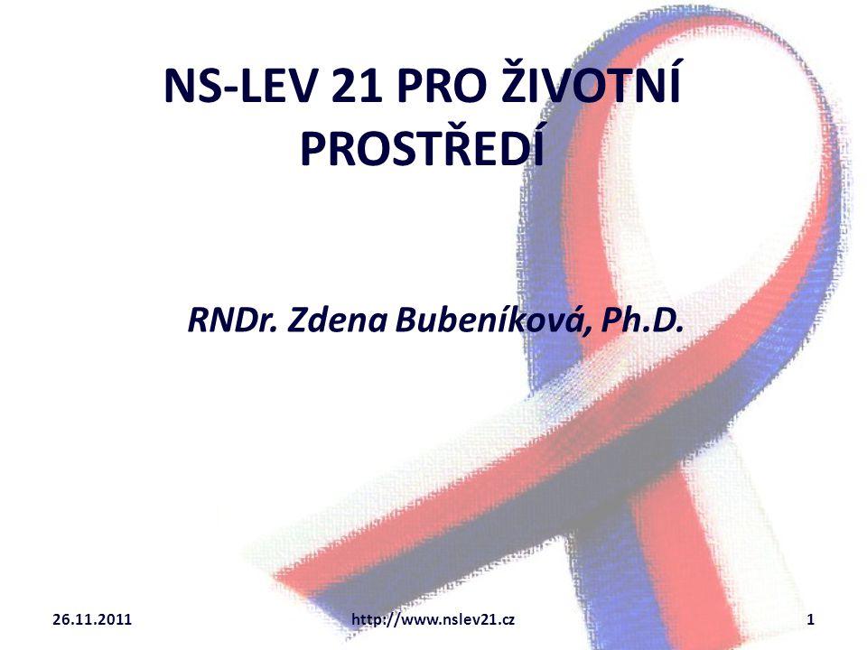 NS-LEV 21 PRO ŽIVOTNÍ PROSTŘEDÍ