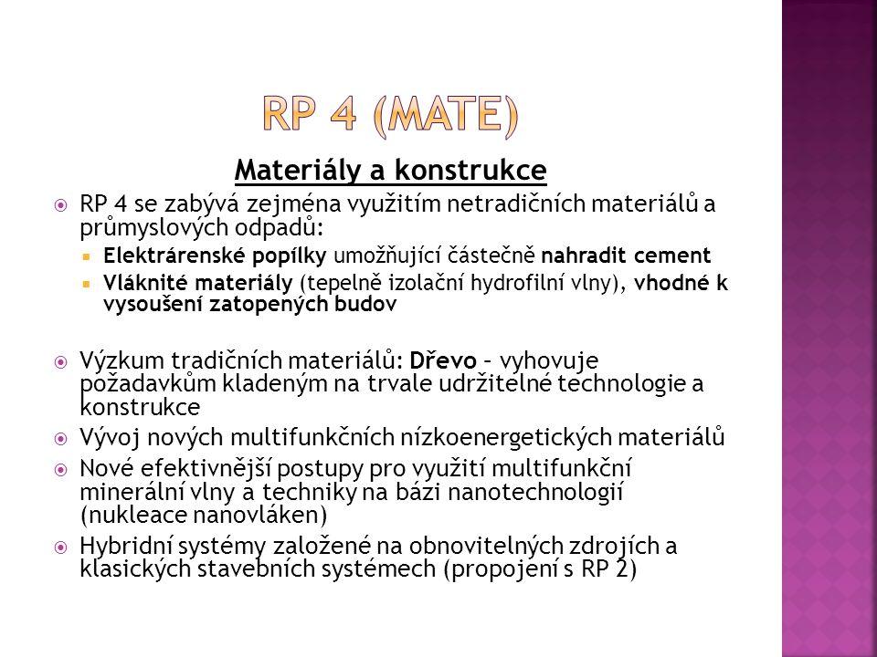 Materiály a konstrukce