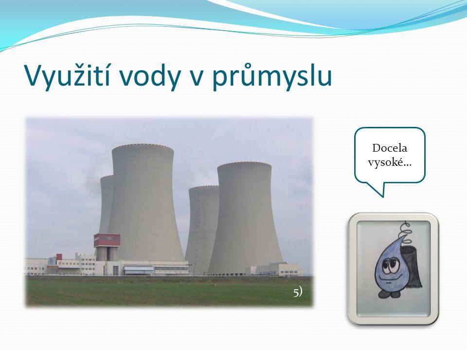 Využití vody v průmyslu