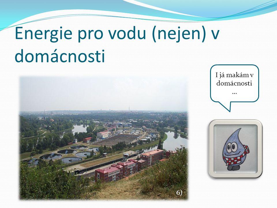 Energie pro vodu (nejen) v domácnosti