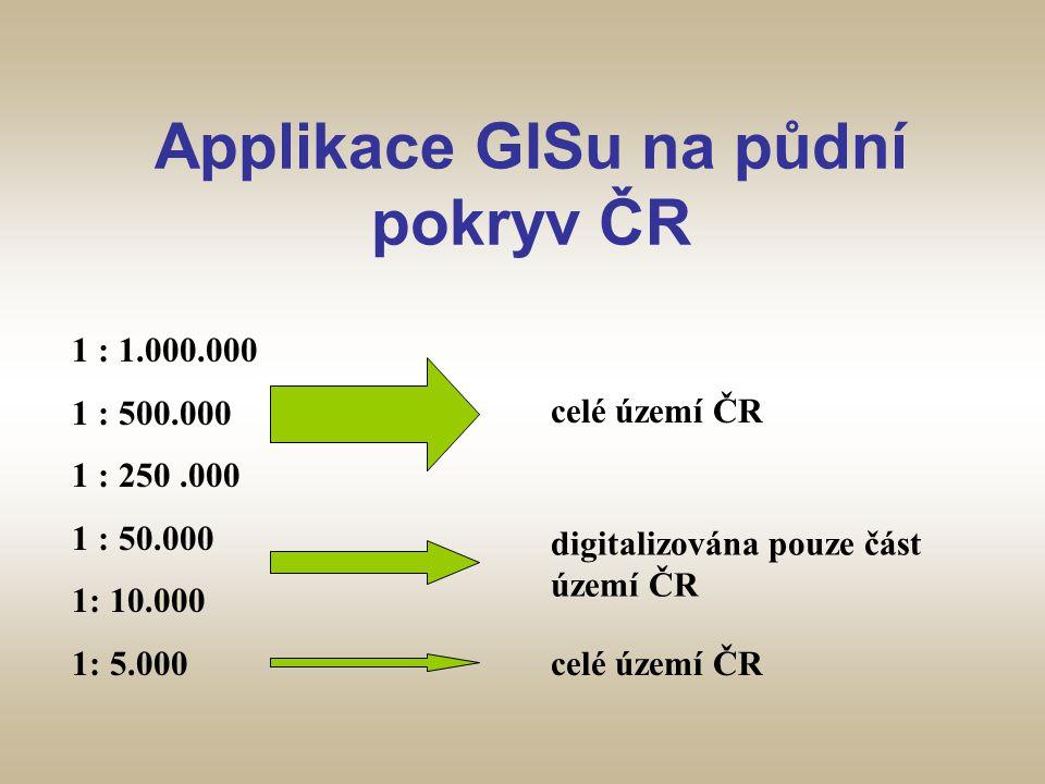 Applikace GISu na půdní pokryv ČR