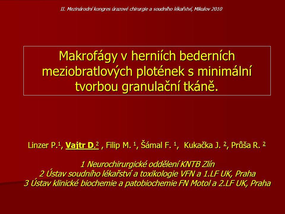 II. Mezinárodní kongres úrazové chirurgie a soudního lékařství, Mikulov 2010
